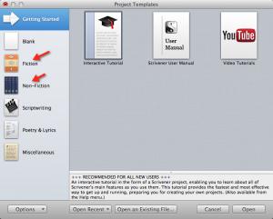 Scrivener tutorials