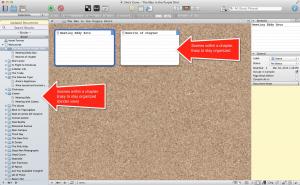Scrivener tutorial