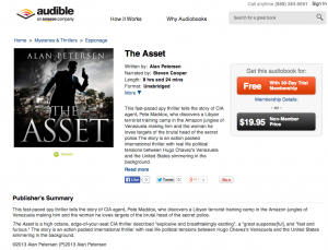 The Asset audiobook for sale on Audible